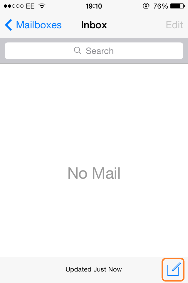 iPhone Email Setup | Step 22
