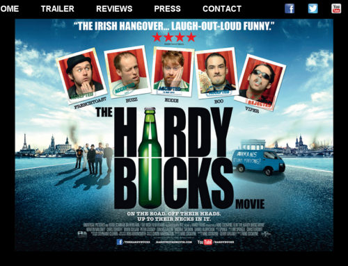 Website Design – The Hardy Bucks Movie